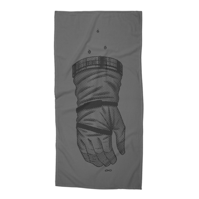 Infinity Glove Accessories Beach Towel by Chuck Pavoni