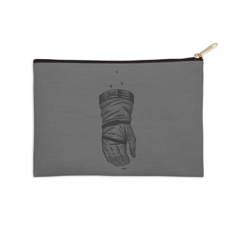 Infinity Glove Accessories Zip Pouch by Chuck Pavoni