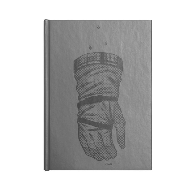 Infinity Glove Accessories Notebook by Chuck Pavoni