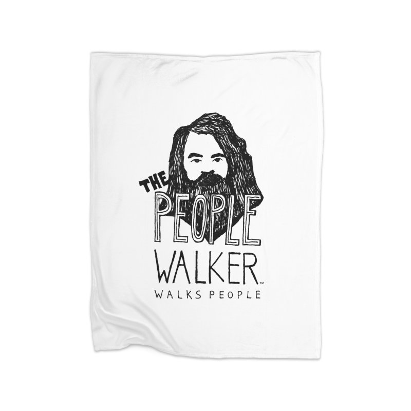 The People Walker™ Home Blanket by Chuck McCarthy's Artist Shop