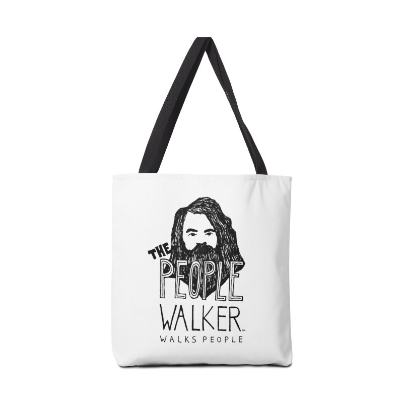 The People Walker™ Accessories Bag by Chuck McCarthy's Artist Shop
