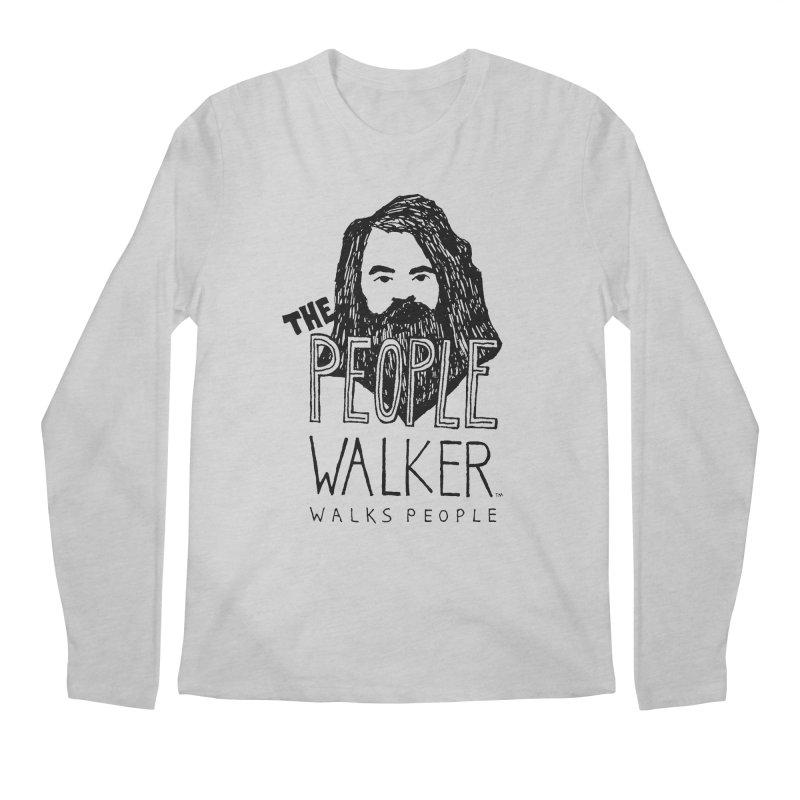The People Walker™ Men's Longsleeve T-Shirt by Chuck McCarthy's Artist Shop