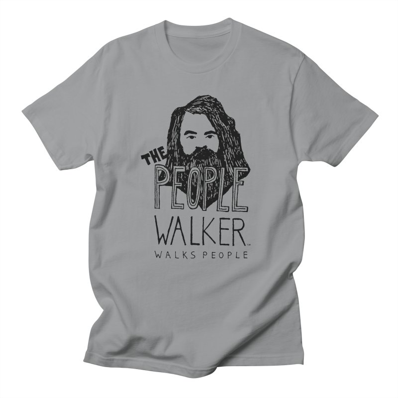 The People Walker™ Men's T-shirt by Chuck McCarthy's Artist Shop