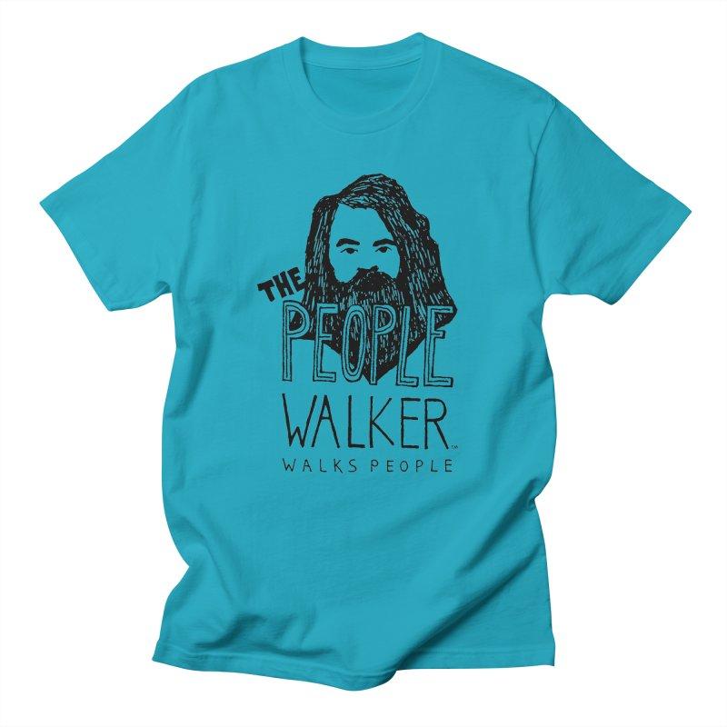 The People Walker™ Men's T-shirt by Chuck McCarthy's Artist Shop