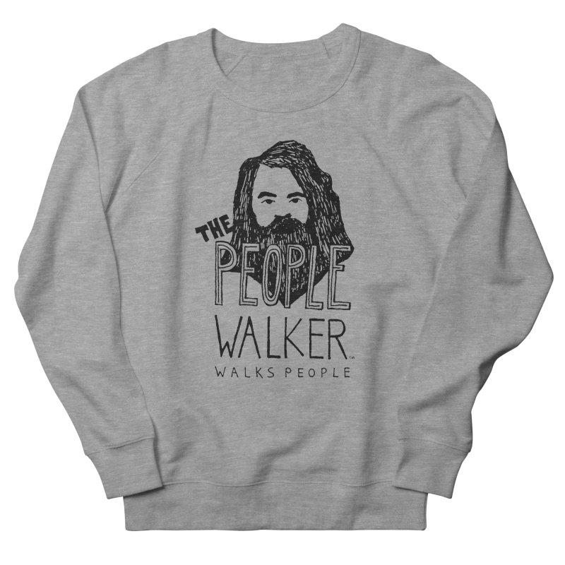The People Walker™ Men's Sweatshirt by Chuck McCarthy's Artist Shop