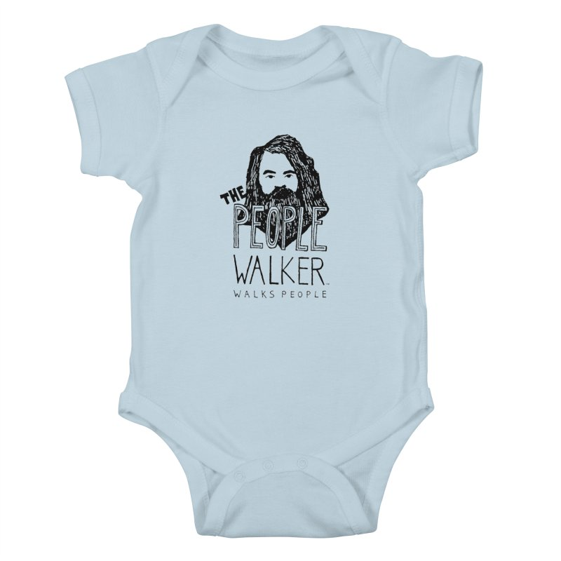 The People Walker™ Kids Baby Bodysuit by Chuck McCarthy's Artist Shop