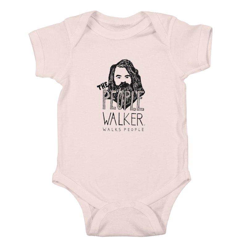 The People Walker™ Kids Baby Bodysuit by Chuck McCarthy's Artist Shop