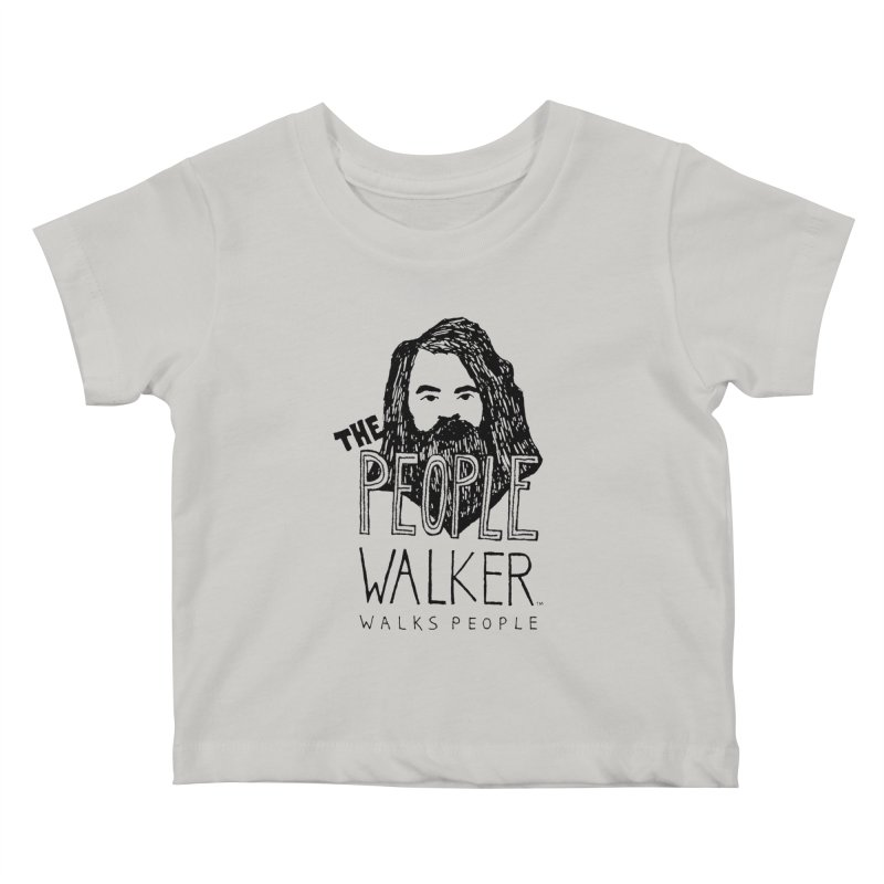 The People Walker™ Kids Baby T-Shirt by Chuck McCarthy's Artist Shop