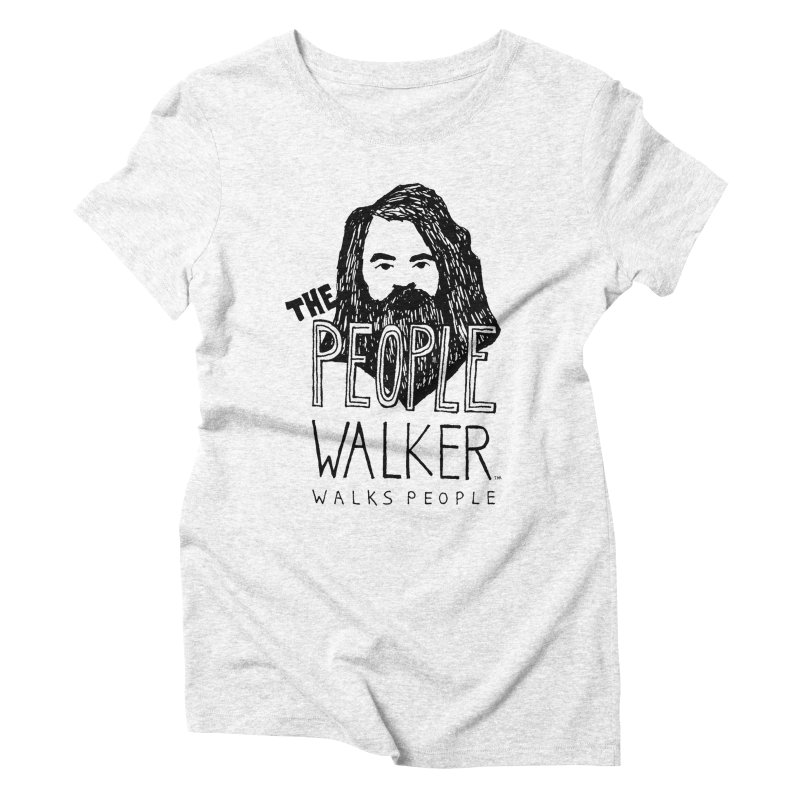 The People Walker™ Women's Triblend T-shirt by Chuck McCarthy's Artist Shop