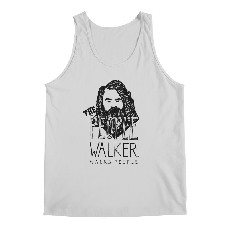 The People Walker™ Men's Tank by Chuck McCarthy's Artist Shop
