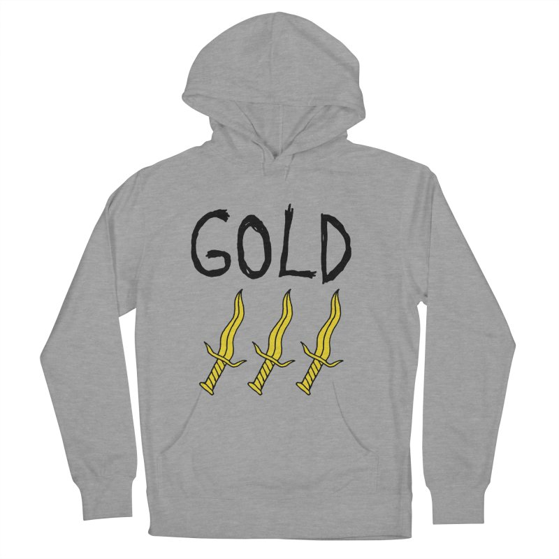 Gold Daggers Men's Pullover Hoody by Chuck McCarthy's Artist Shop