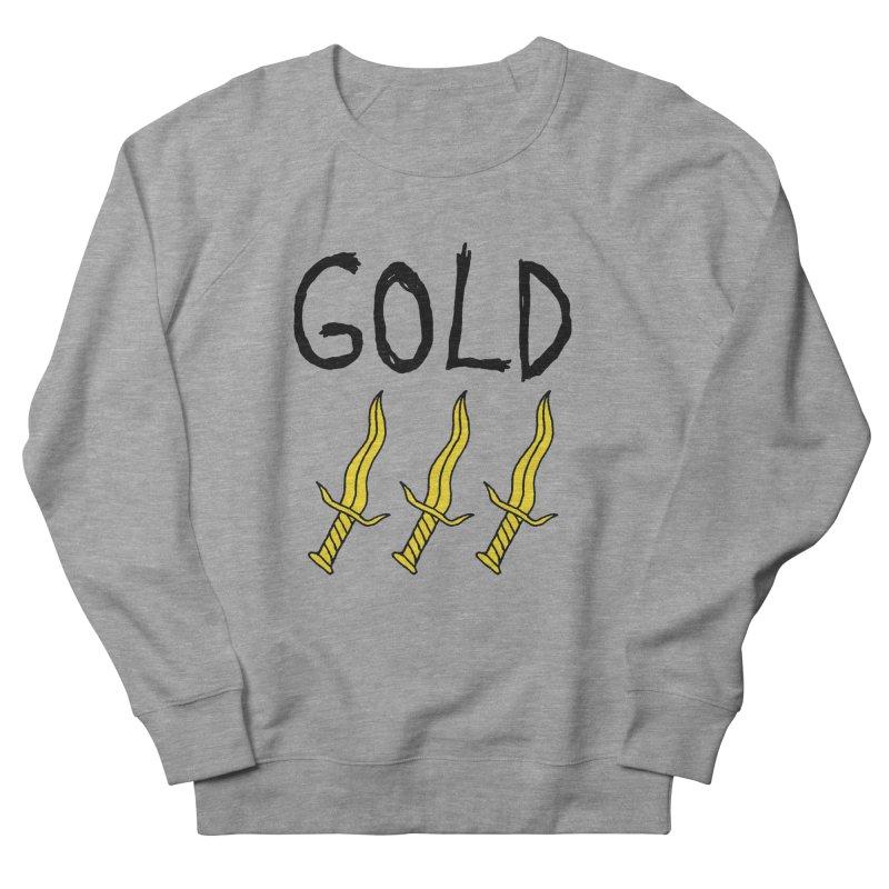 Gold Daggers Women's Sweatshirt by Chuck McCarthy's Artist Shop
