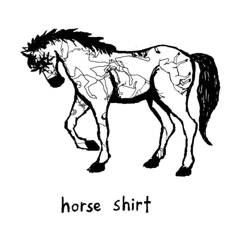 Horse Shirt by Chuck McCarthy's Artist Shop
