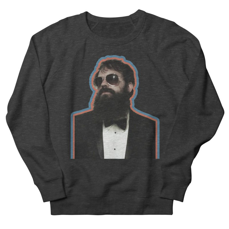 Chuck Tux Men's French Terry Sweatshirt by Chuck McCarthy's Artist Shop