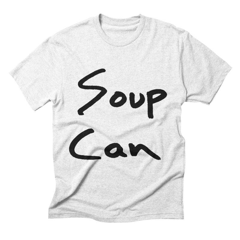 Soup Can Men's Triblend T-shirt by Chuck McCarthy's Artist Shop