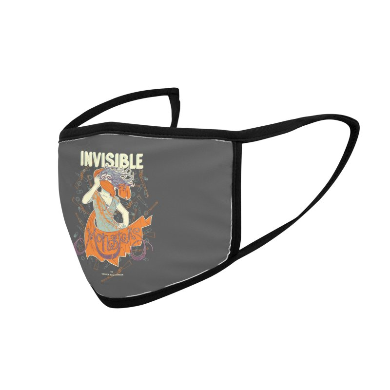 Invisible Monsters Accessories Face Mask by The Official ChuckPalahniuk.net Shop