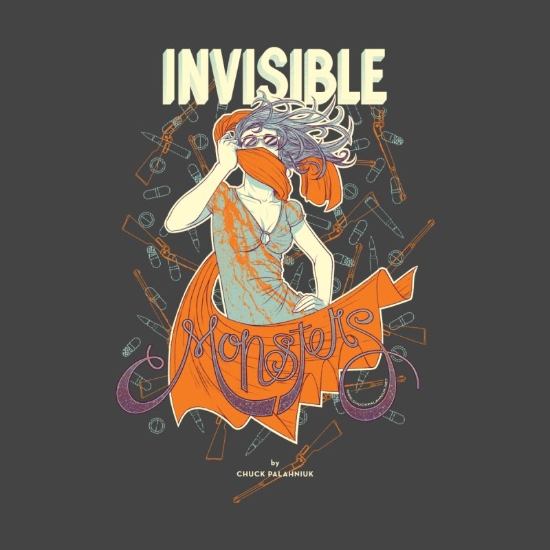 Invisible Monsters Men's Zip-Up Hoody by The Official ChuckPalahniuk.net Shop