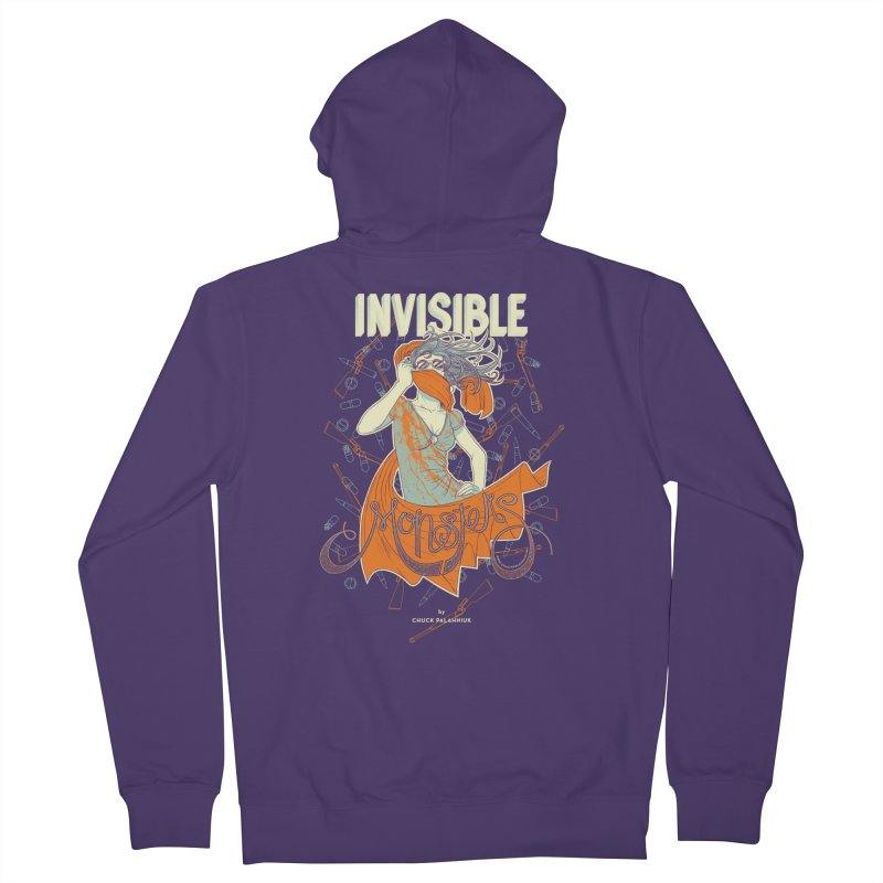 Invisible Monsters Women's Zip-Up Hoody by The Official ChuckPalahniuk.net Shop