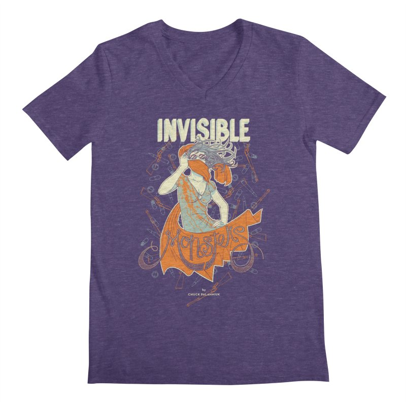 Invisible Monsters Men's V-Neck by The Official ChuckPalahniuk.net Shop
