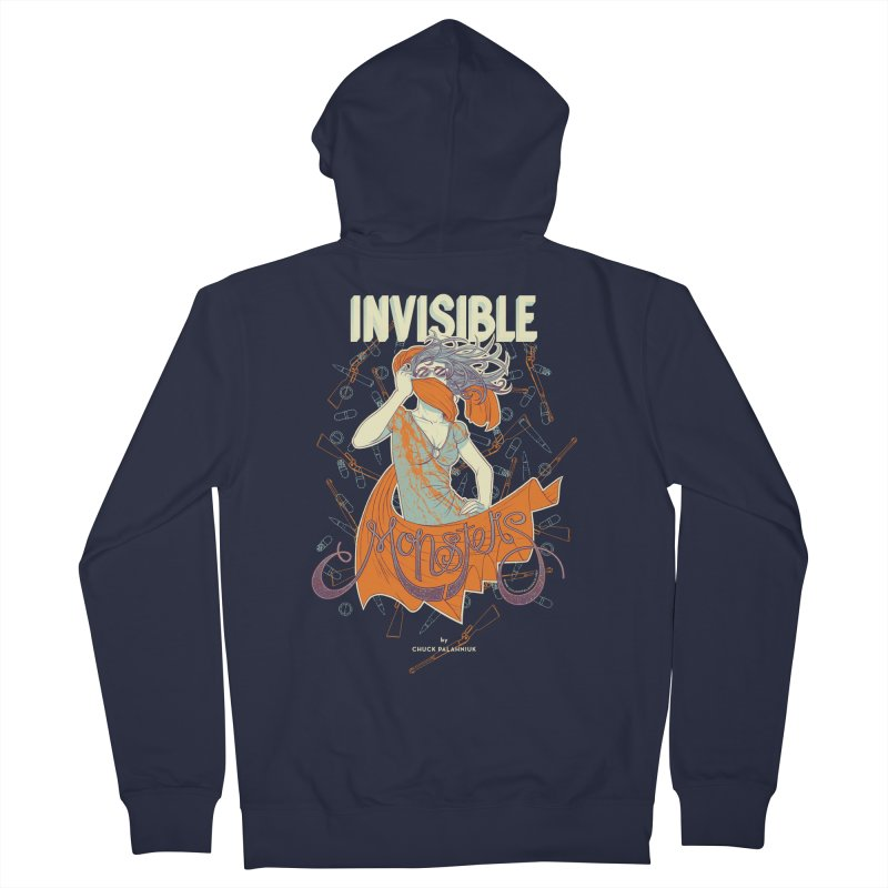 Invisible Monsters Women's French Terry Zip-Up Hoody by The Official ChuckPalahniuk.net Shop