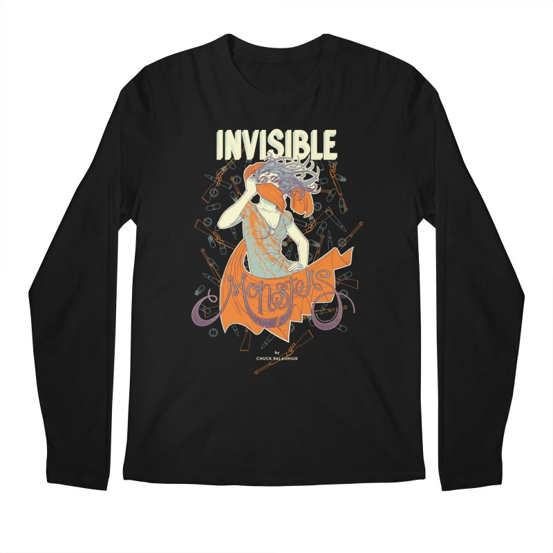 Invisible Monsters Men's Regular Longsleeve T-Shirt by The Official ChuckPalahniuk.net Shop