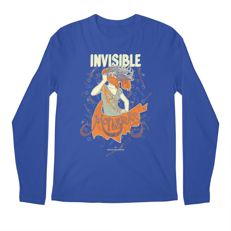 Invisible Monsters Men's Longsleeve T-Shirt by The Official ChuckPalahniuk.net Shop