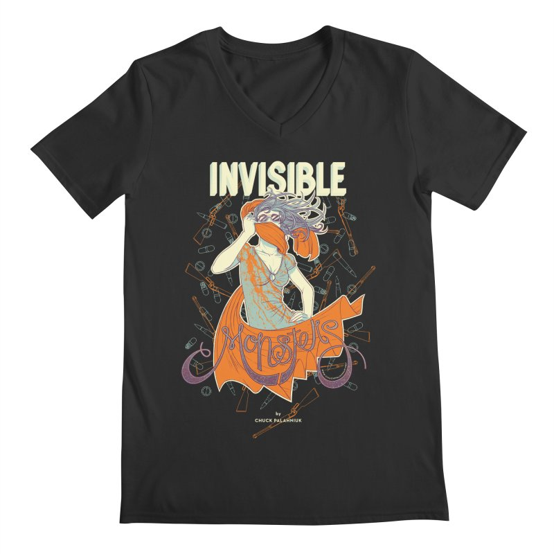 Invisible Monsters Men's Regular V-Neck by The Official ChuckPalahniuk.net Shop