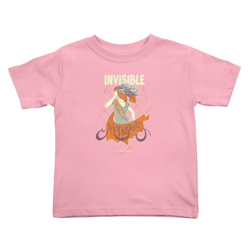 Invisible Monsters Kids Toddler T-Shirt by The Official ChuckPalahniuk.net Shop