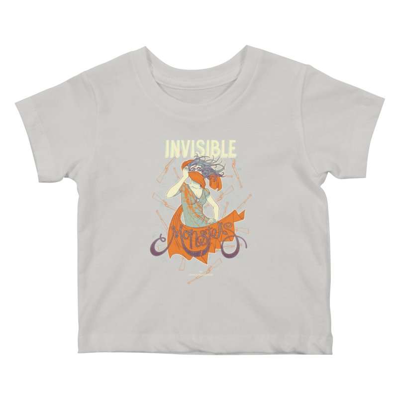 Invisible Monsters Kids Baby T-Shirt by The Official ChuckPalahniuk.net Shop