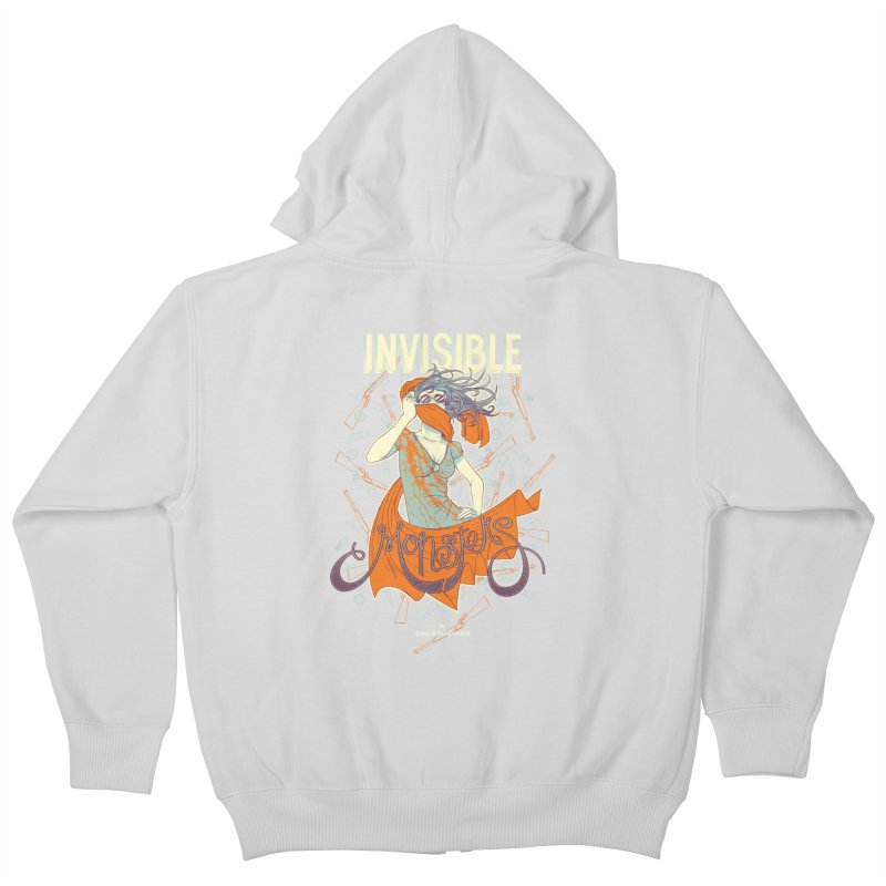 Invisible Monsters Kids Zip-Up Hoody by The Official ChuckPalahniuk.net Shop