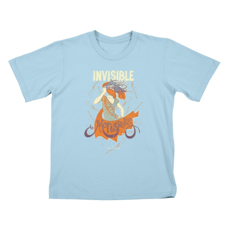 Invisible Monsters Kids T-shirt by The Official ChuckPalahniuk.net Shop
