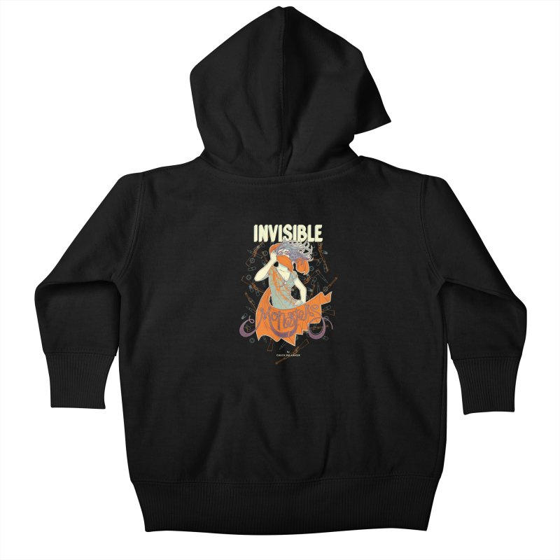 Invisible Monsters Kids Baby Zip-Up Hoody by The Official ChuckPalahniuk.net Shop