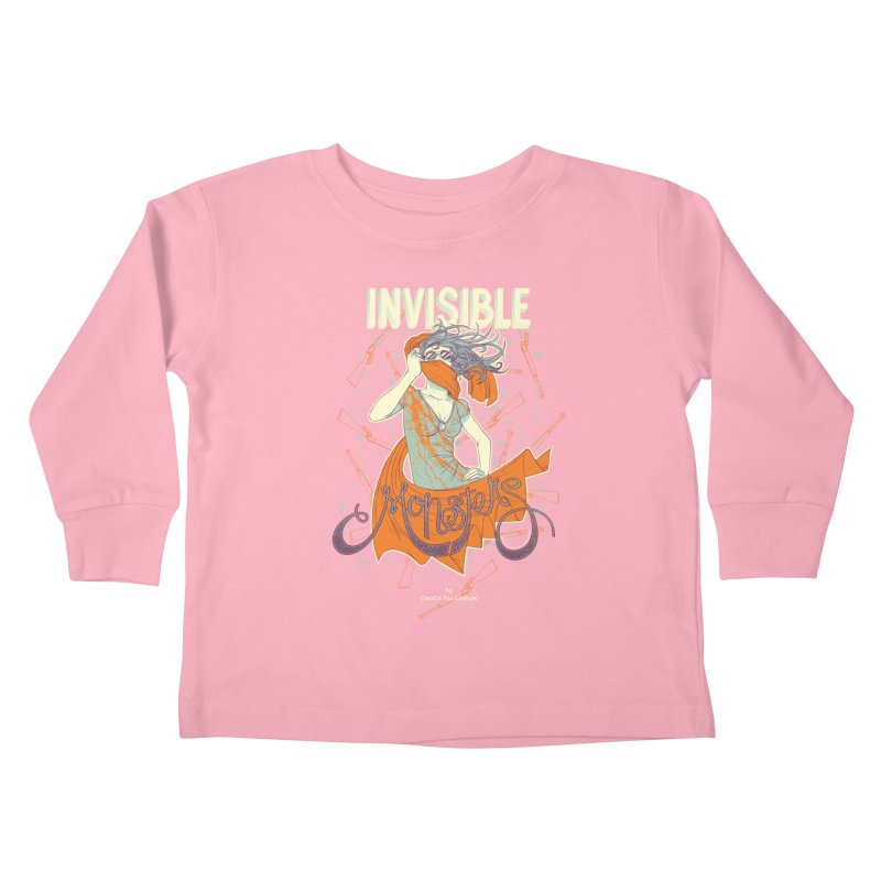 Invisible Monsters Kids Toddler Longsleeve T-Shirt by The Official ChuckPalahniuk.net Shop