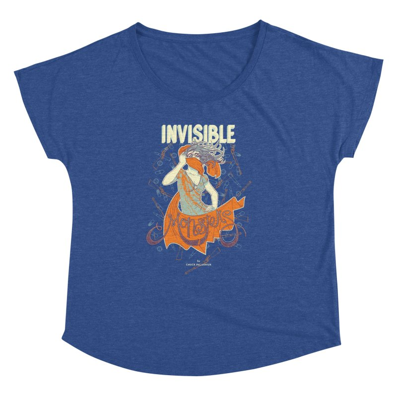 Invisible Monsters Women's Dolman Scoop Neck by The Official ChuckPalahniuk.net Shop