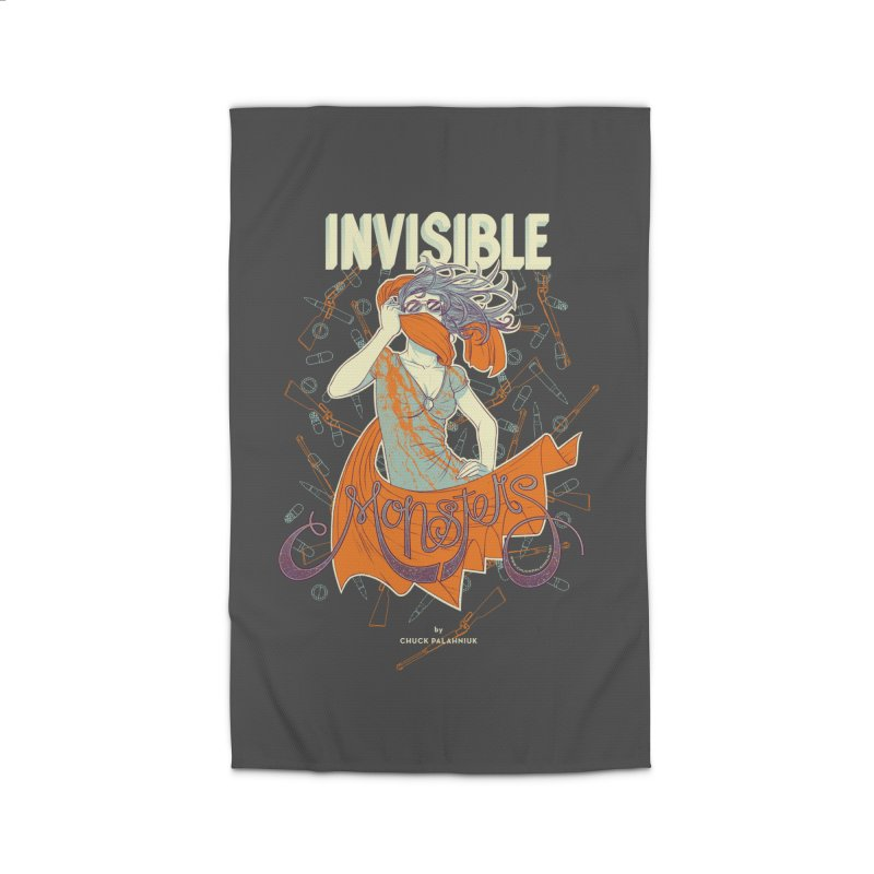 Invisible Monsters Home Rug by The Official ChuckPalahniuk.net Shop