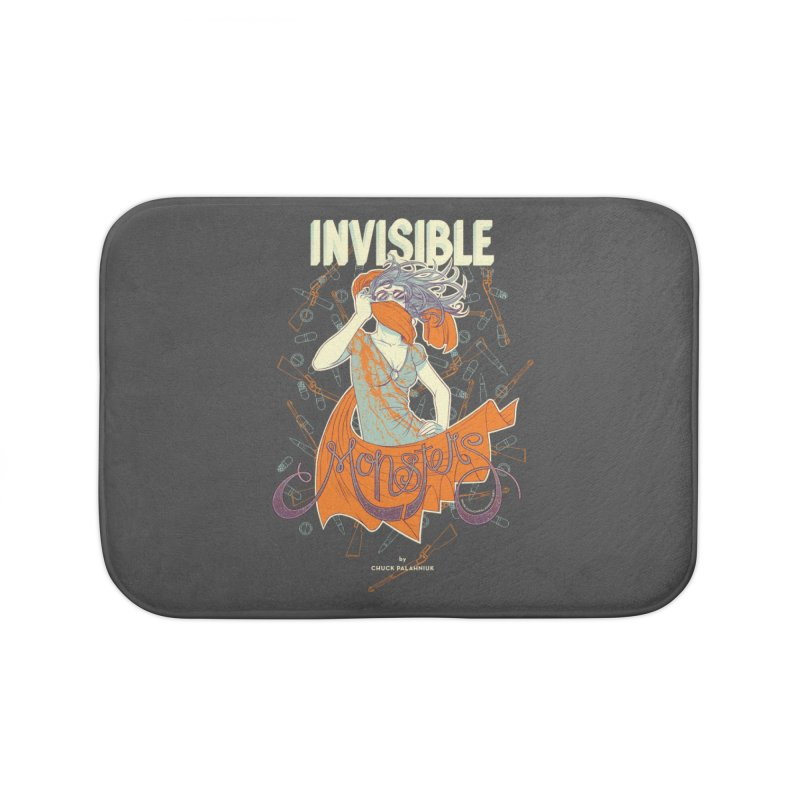 Invisible Monsters Home Bath Mat by The Official ChuckPalahniuk.net Shop