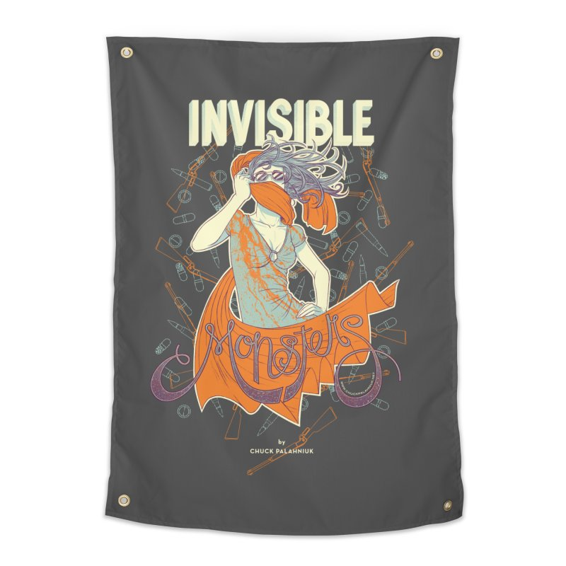 Invisible Monsters Home Tapestry by The Official ChuckPalahniuk.net Shop