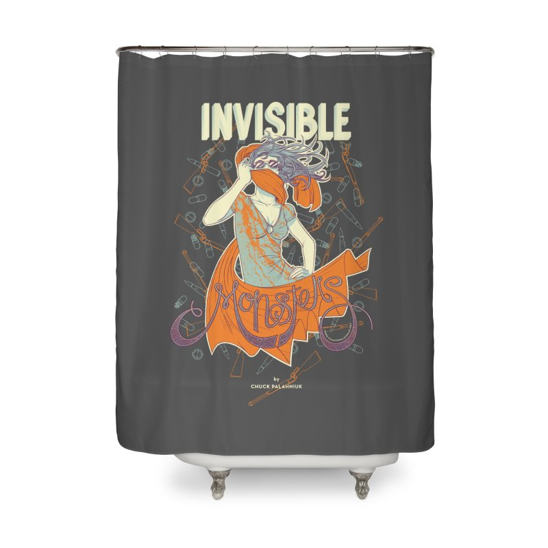 Invisible Monsters Home Shower Curtain by The Official ChuckPalahniuk.net Shop