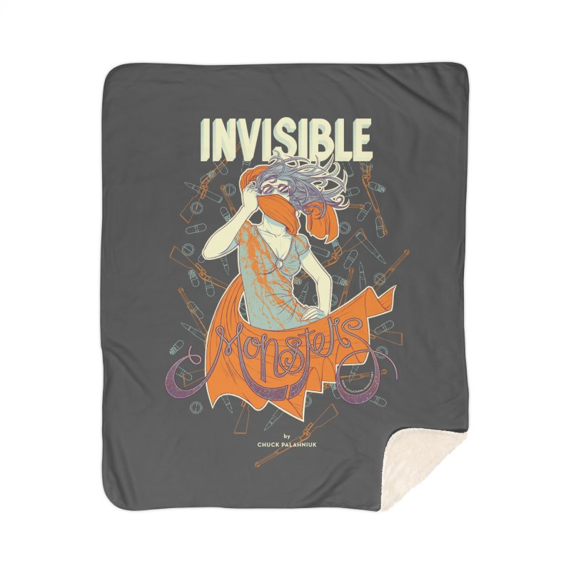 Invisible Monsters Home Blanket by The Official ChuckPalahniuk.net Shop