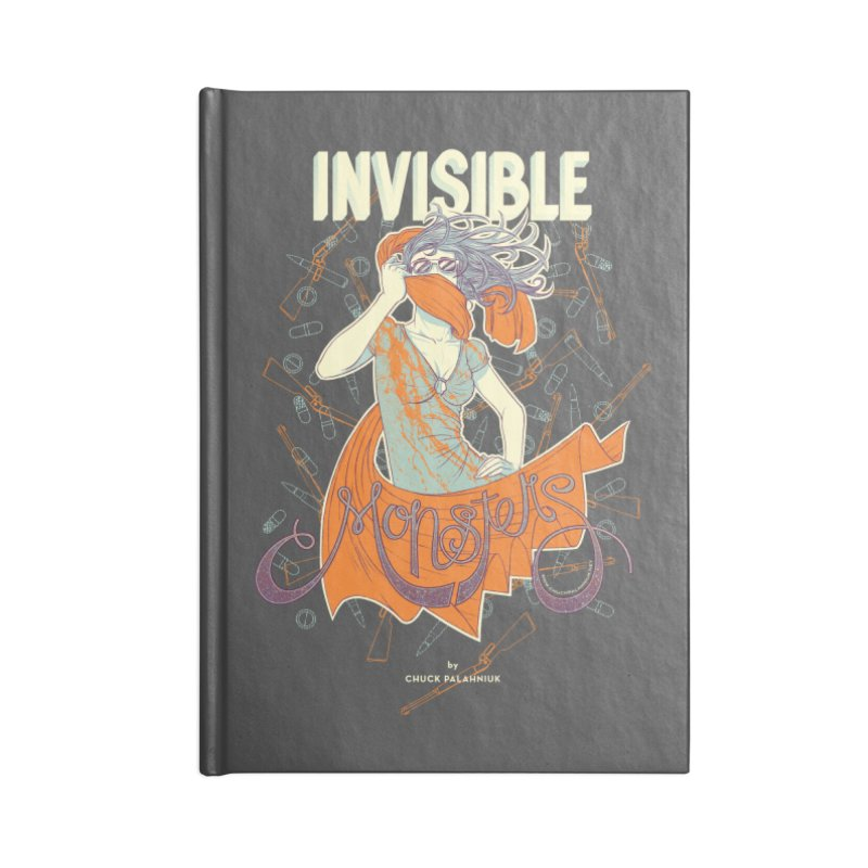 Invisible Monsters Accessories Lined Journal Notebook by The Official ChuckPalahniuk.net Shop