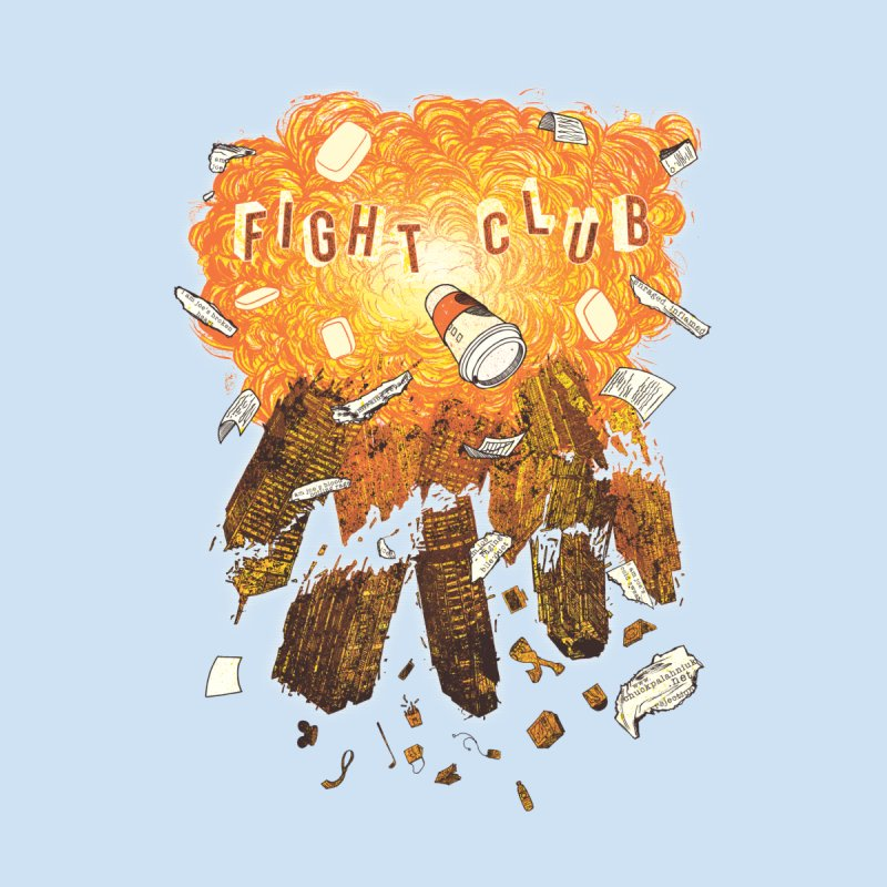 Fight Club Women's Fitted T-Shirt by The Official ChuckPalahniuk.net Shop