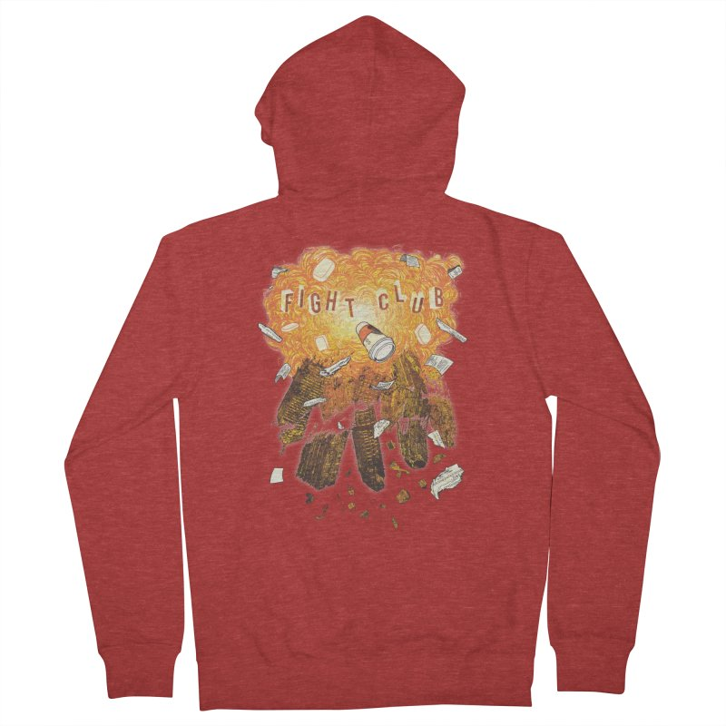 Fight Club Women's Zip-Up Hoody by The Official ChuckPalahniuk.net Shop