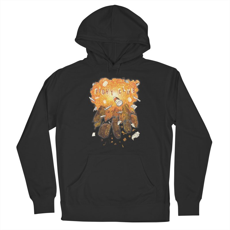Fight Club Men's French Terry Pullover Hoody by The Official ChuckPalahniuk.net Shop
