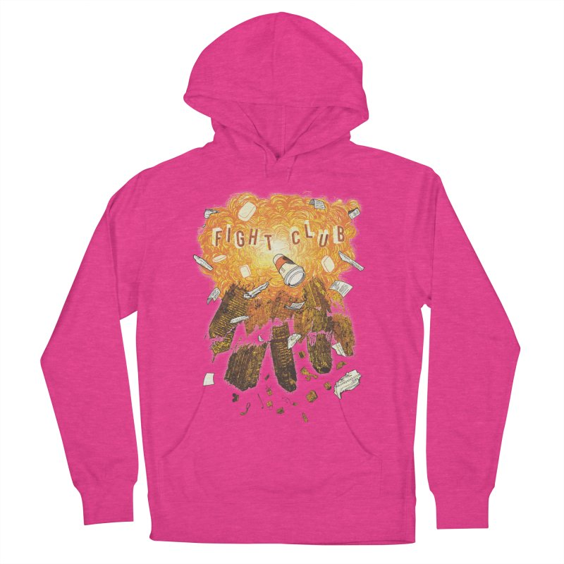 Fight Club Women's French Terry Pullover Hoody by The Official ChuckPalahniuk.net Shop