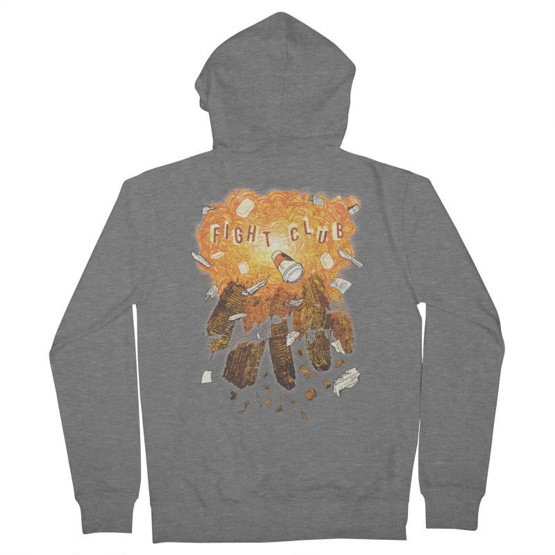 Fight Club Women's French Terry Zip-Up Hoody by The Official ChuckPalahniuk.net Shop
