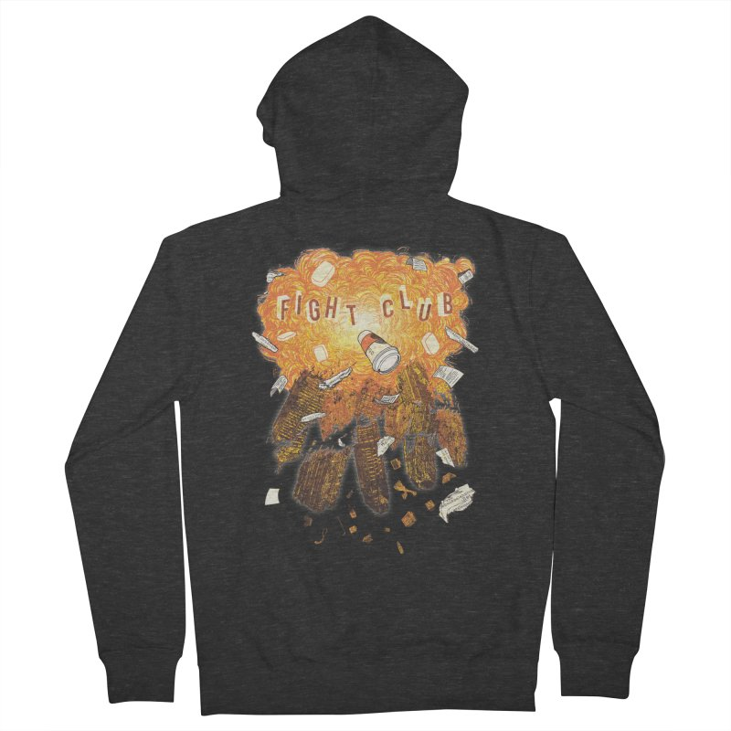 Fight Club Men's French Terry Zip-Up Hoody by The Official ChuckPalahniuk.net Shop