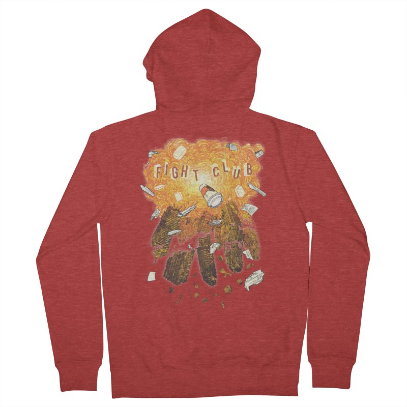Fight Club Men's Zip-Up Hoody by The Official ChuckPalahniuk.net Shop