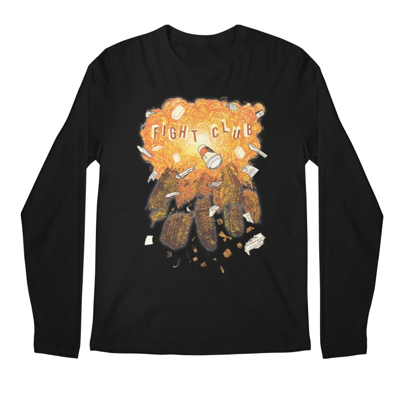 Fight Club Men's Regular Longsleeve T-Shirt by The Official ChuckPalahniuk.net Shop