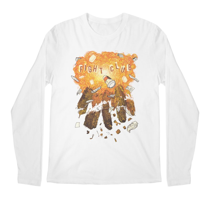 Fight Club Men's Longsleeve T-Shirt by The Official ChuckPalahniuk.net Shop