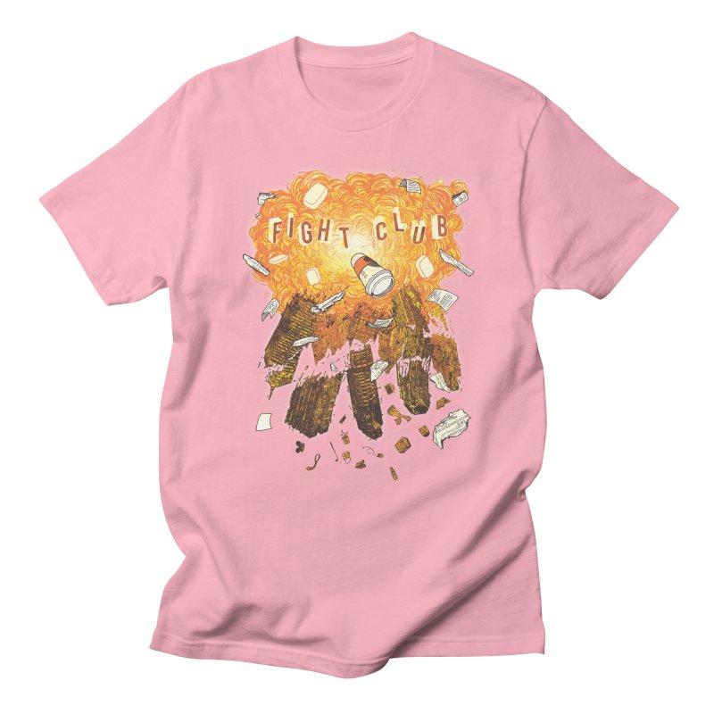 Fight Club Men's Regular T-Shirt by The Official ChuckPalahniuk.net Shop
